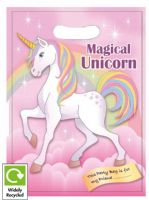 Magical Unicorn Cello Loot Party Bag